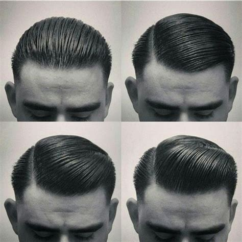 rockabilly rear view of men s haircuts slicked back hairstyles men s hairstyles haircuts 2018