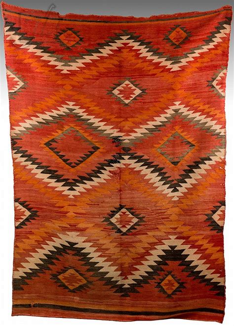 woven indian rugs 1895 transitional navajo woven wool rug