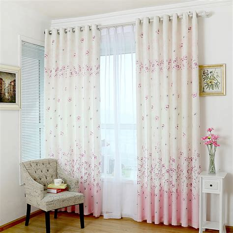 Beautiful Country And Cute Curtains For Girls Bedrooms