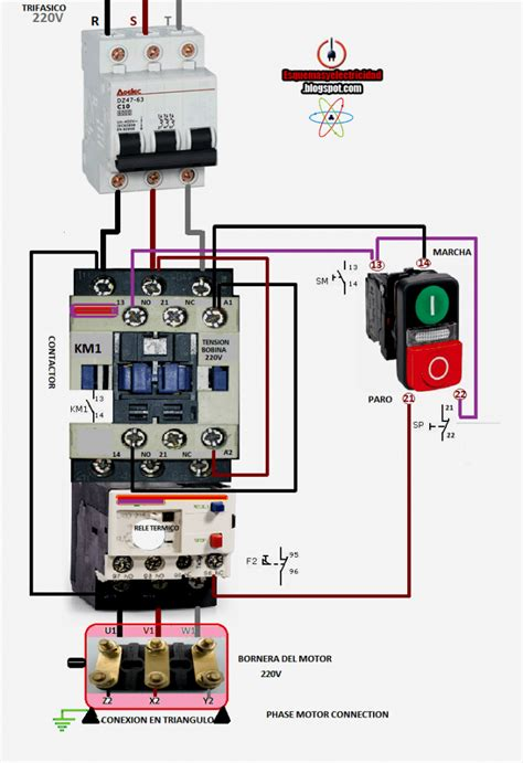 3 phase mag ic motor starter wiring diagram electric motor