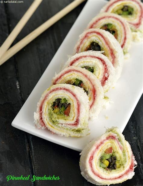 pinwheel sandwiches on pinterest pinwheel sandwich pinwheel sandwiches recipe vegetarian recipes by tarla