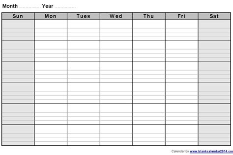 monthly blank calendar template how to use monthly calendar templates calendar templates