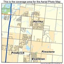 firestone colorado map aerial photography map of firestone co colorado