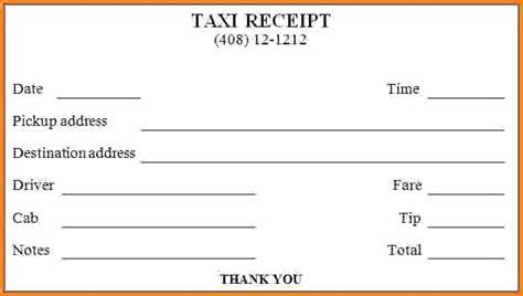 Luxor Cab Receipt Template by Cab Receipt Viqoo Club