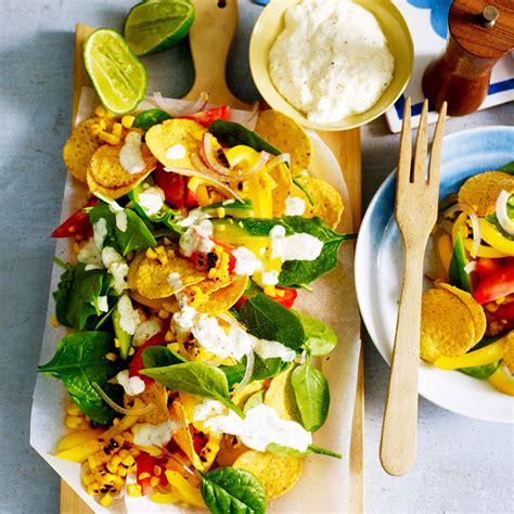 Corn Chips Cheese Crunchy crunchy corn chip salad with lime dressing healthy