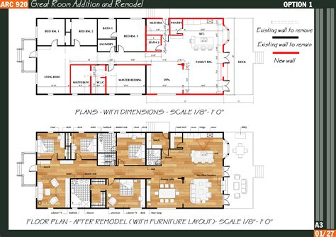 great room addition floor plans floor plans designed by qarch team great room addition