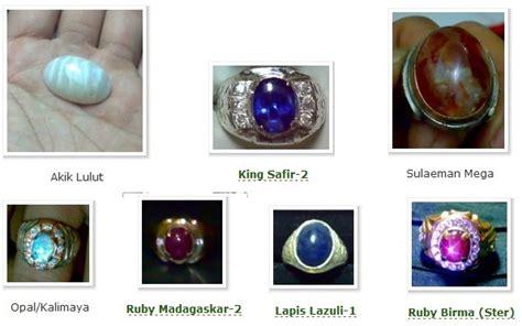 nama  jenis batu akik  blue safir hingga zamrud