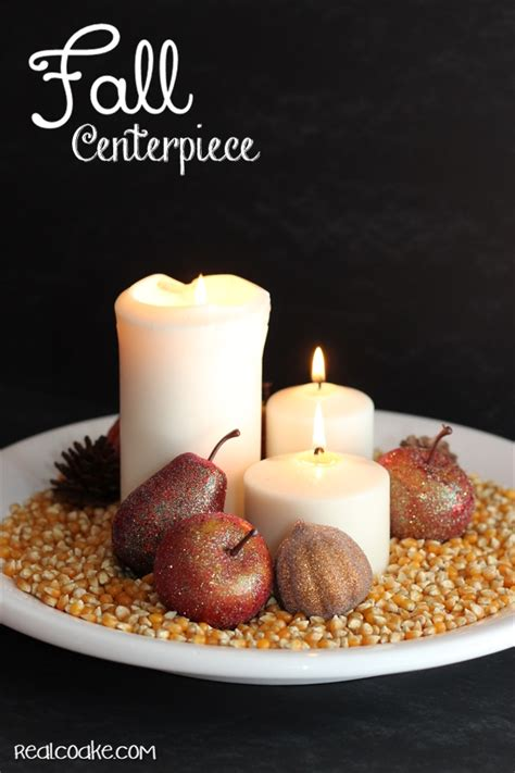 fall centerpiece ideas simple fall centerpiece idea the real thing with the