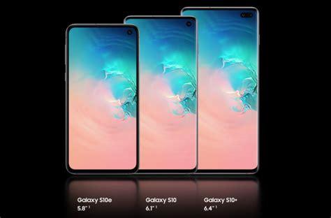 Samsung Galaxy S10 Questions by Samsung Galaxy S10 S10 Plus Et S10e Fleurons Du Constructeur Cor 233 En