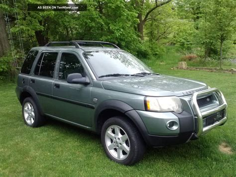 land rover freelander 2004 2004 land rover freelander suv review edmundscom autos post