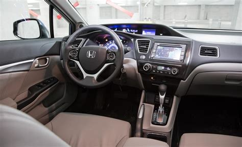 honda 2013 interior car and driver