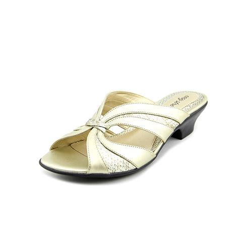 size 12 sandals easy lorna womens size 12 gold dress sandals shoes