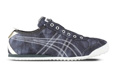 Po Onitsuka Tiger Mexico 66 Paraty Slip On Canvas Black Purple onitsuka tiger mexico 66 slip on dk grey shoes d5n6n 9001