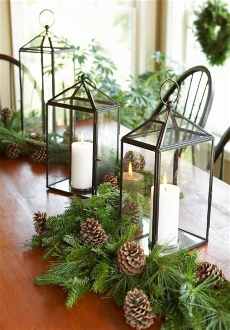 50 easy christmas centerpiece ideas classic pine and