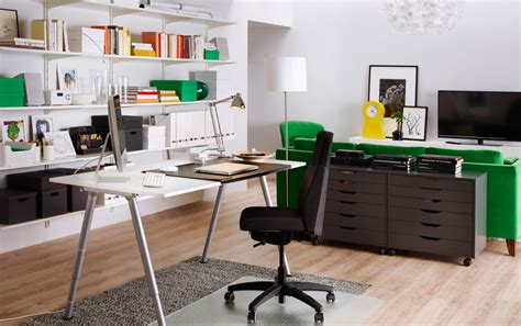 Office Desk Ikea Image Gallery Home Office Ikea
