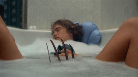 scary movie bathroom scene a nightmare on elm street