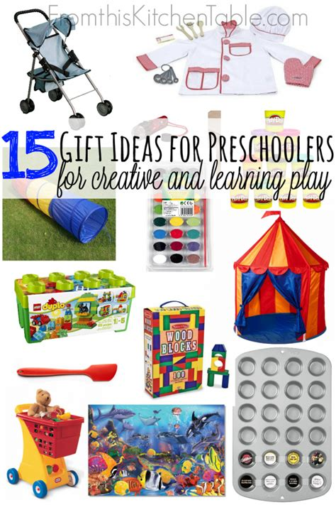 preschool gift gift ideas for preschoolers from this kitchen table
