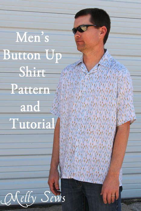 pattern man shirt free men s shirt pattern and tutorial melly sews