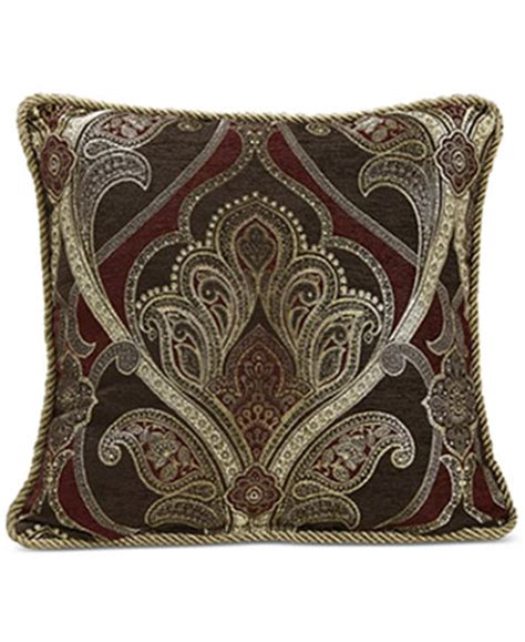 decorative pillows for bed clearance croscill bradney 18 quot square decorative pillow decorative