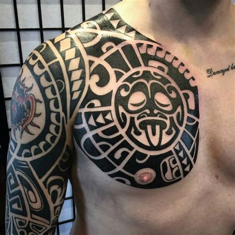 maori chest tattoo best tattoo ideas gallery