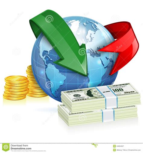 global money transfer global money transfer concept stock vector image 44054027
