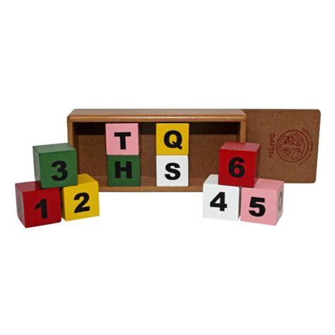 Abc Balok Kayu Wooden Block mainan anak dari balok kayu mainan toys