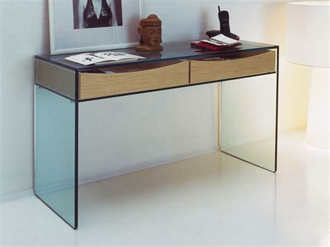 Home Office Desk For Sale Gulliver Modern Glass Console Table By Tonelli Nova68