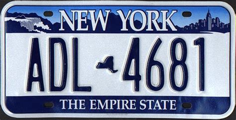 Ny Vanity Plates by New York Y2k