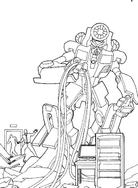 coloring pages of transformers to print free coloring pages of bumblebee rescue bots