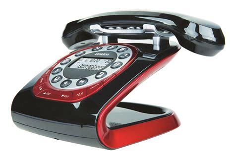 uniden modro  black retro style cordless phone