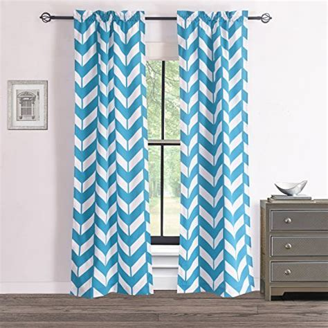 teal and white curtains white and teal curtains com