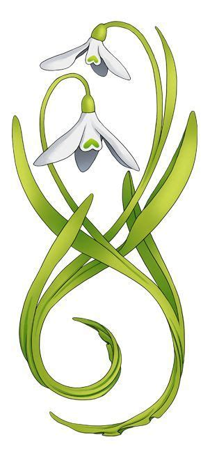 snowdrop tattoo designs image result for snowdrop