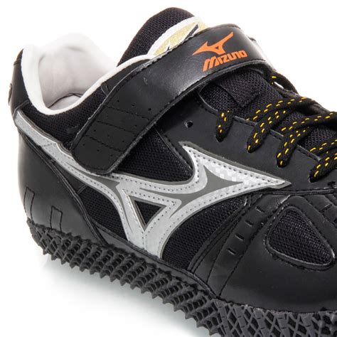 mizuno high jump mens track and field shoes black