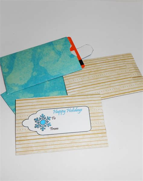 Handmade Envelope Pattern - diy gift card envelopes gift card envelope by tlcreations73