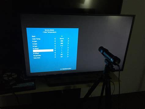 Tv Led Sony W 650d sony w650d led tv calibration settings