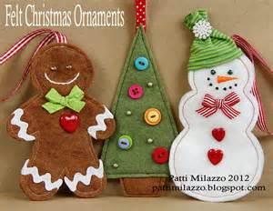 felt christmas ornaments felt christmas ornaments felt