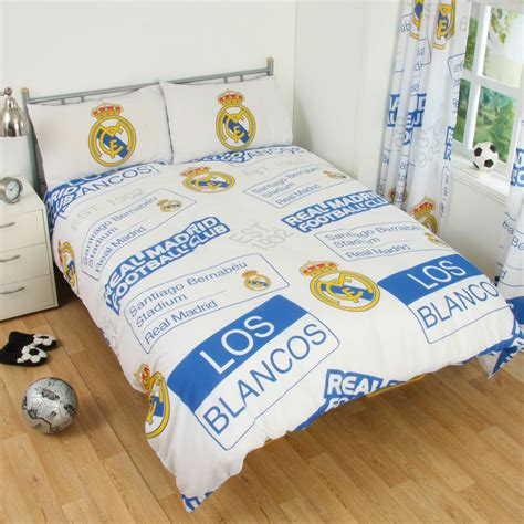 real madrid bedding real madrid bedding accessories football duvet covers