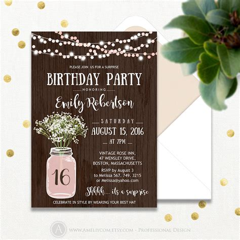 60th birthday party invites birthday invites cool surprise free
