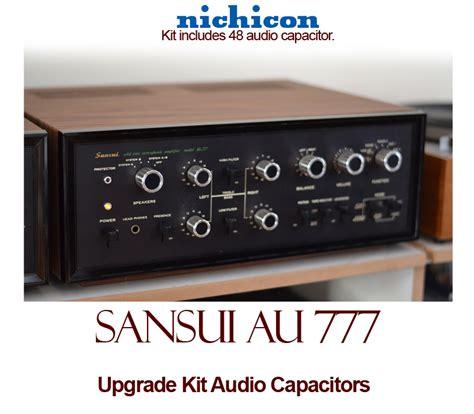 capacitor upgrade sansui au 777 upgrade kit audio capacitors