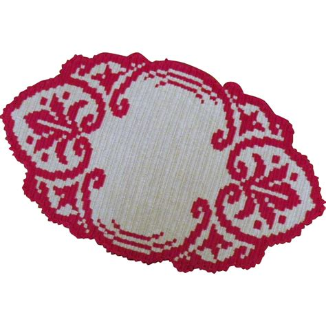 knit or woven vintage knitted or woven textile from