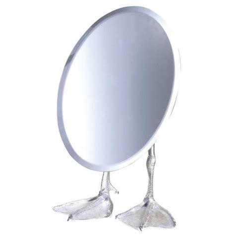Tabletop Vanity Mirror by Duck Footed Tabletop Vanity Mirror