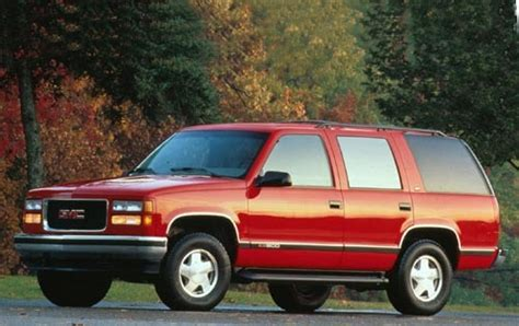 used 1995 gmc yukon for sale pricing features edmunds