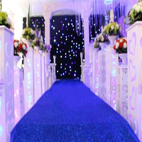 Royal Blue Centerpieces For Weddings