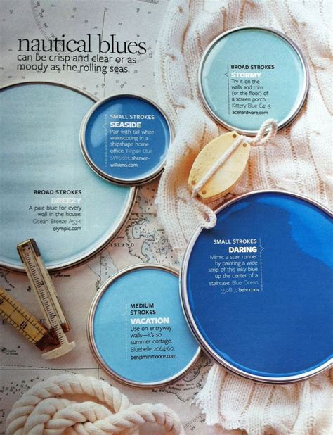 nautical paint colors paint palette nautical blues interiors by color