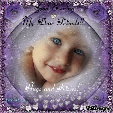 good evening  dear friends p picture  blingeecom
