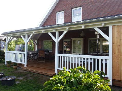veranda weiss holz holzbau konzept projekte
