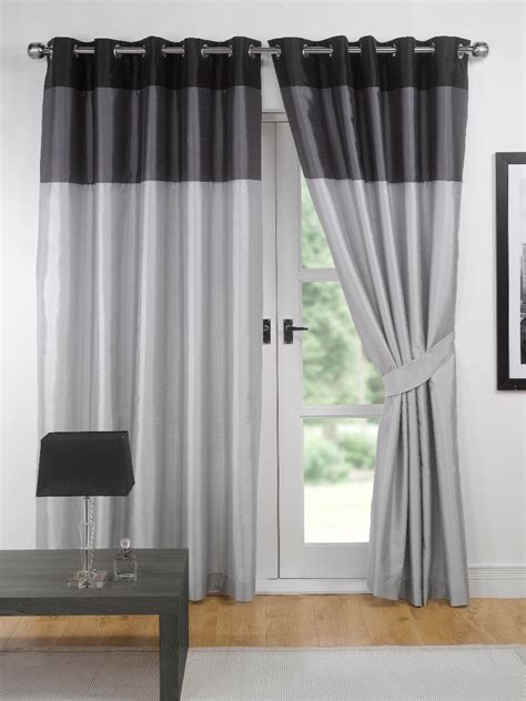 gray and black curtains curtains blinds bedding chiltern mills