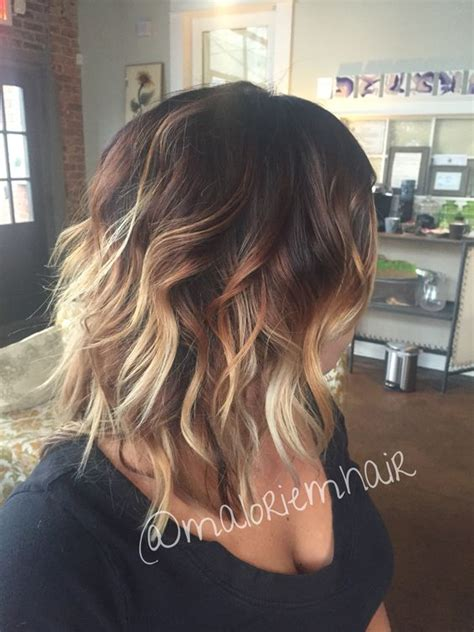 medium ombre haircuts medium haircuts with ombre color haircuts models ideas