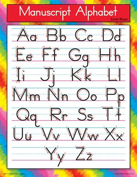 Printable Alphabet Manuscript Chart   manuscript alphabet chart printable printable maps