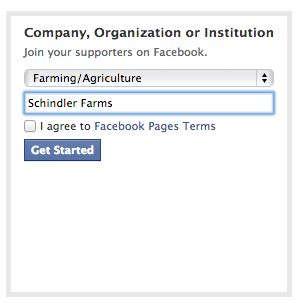create a fan page on without a profile how do you set up your page for your family farm